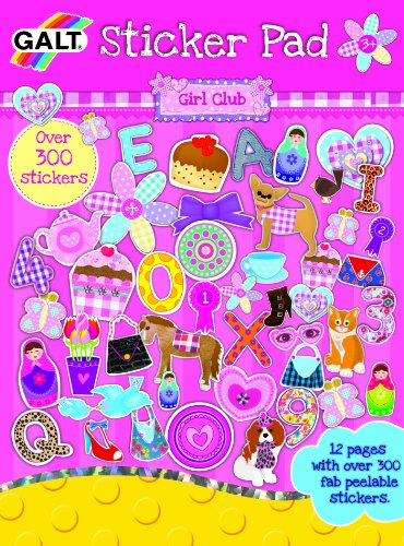 Galt Toys Inc Sticker Pad