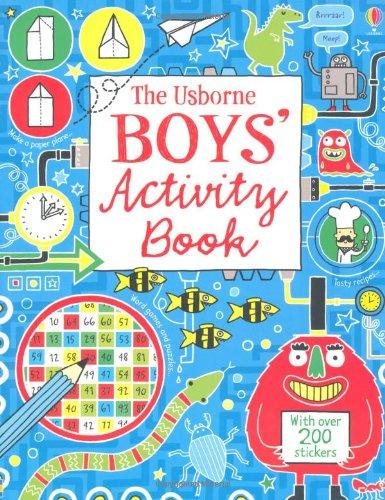 Boy's Activity Book (Usborne Activities)