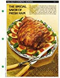 McCall's Cooking School Recipe Card: Meat 16 - Roast Fresh Ham With Apricot Stuffing (Replacement McCall's Recipage or Recipe Card For 3-Ring Binders)