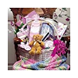 Baby Bountiful Newborn Basket - Large Shower Gift Idea for New Baby Boys