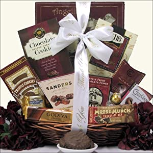 Chocolate Delights: Administrative Professionals Day Gourmet Chocolate Gift Basket