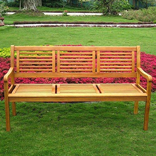 Royal Tahiti Bar Harbor Three Seat Bench (Balau Wood compare prices)