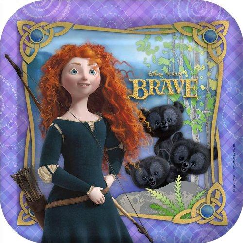 Hallmark Disney Brave Square Dinner Plates (8)