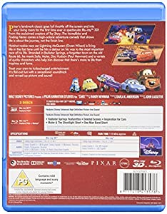 Cars (3D) [Blu-ray] from Imports