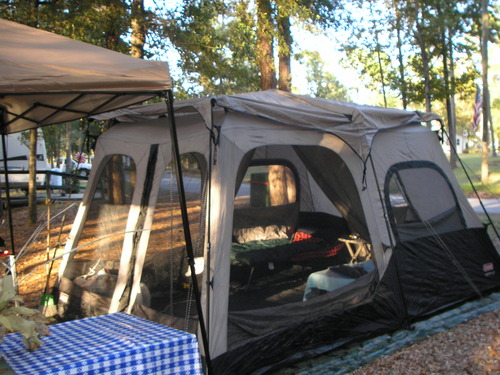 Amazon Com Coleman 4 Person Instant Tent Rainfly
