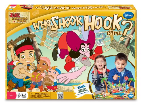 Jake and The Never Land Pirates Who Shook Hook Adventure Board Game - 1