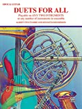img - for Duets for All: Bb Cornet (Baritone T.C.) (Playable on Any 2 Instruments) book / textbook / text book