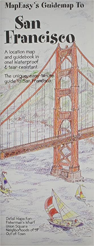 MapEasy's Guidemap to San Francisco