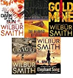 WILBUR SMITH WILBUR SMITH 5 BOOK SET COLLECTION ELEPHANT SONG CRY WOLF GOLD MINE THE DIAMOND HUNTERS THE DARK OF THE SUN