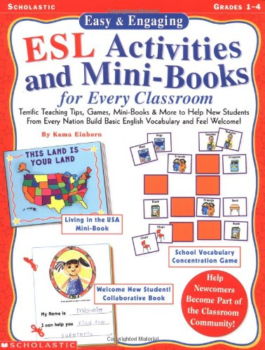 Esl Activities And Mini-Books For Every Classroom back-935180