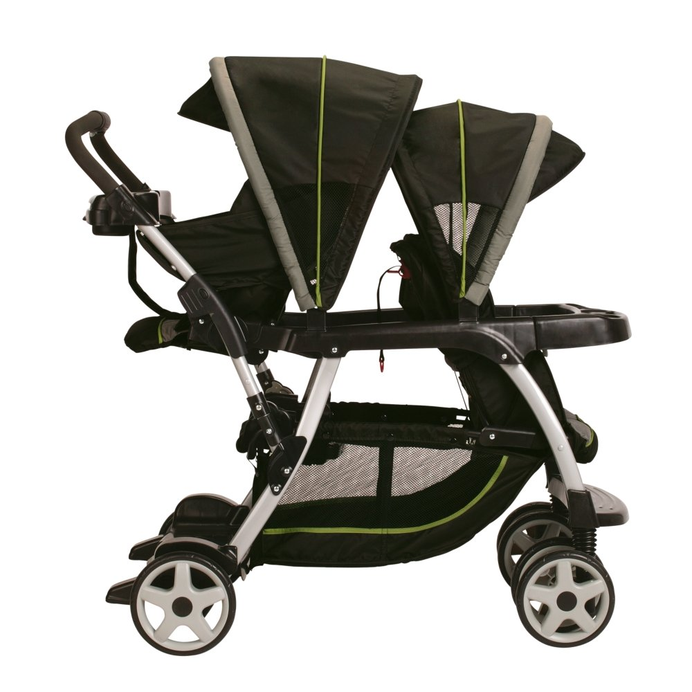 Graco Ready2Grow Classic Connect LX Stroller-Surrey green black at Sears.com