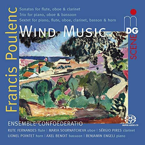 SACD : POULENC / ENSEMBLE CONFOEDERATIO - Wind Music