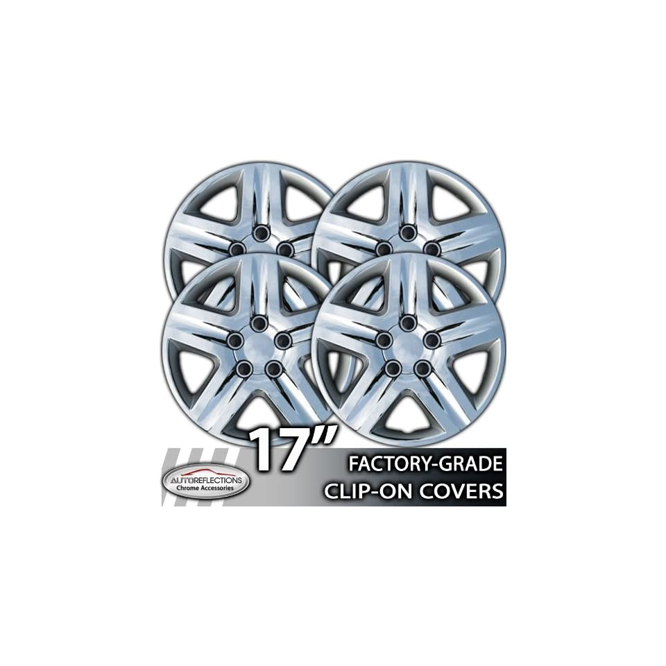 2010 2011 Toyota Camry 17 Chrome Clip On Hubcaps