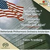 """Dvorák: Symphony No. 9 (""""New World""""); Tchaikovsky: Romeo and Juliet Overture (Hybrid SACD)"""