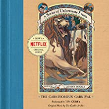 The Carnivorous Carnival: A Series of Unfortunate Events #9 | Livre audio Auteur(s) : Lemony Snicket Narrateur(s) : Tim Curry