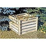 Steckkomposter Holz Kompostsilo Bausatz 100x100x70cm