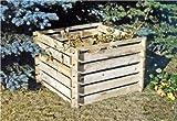 Compost Kit en bois 100x100x70cm