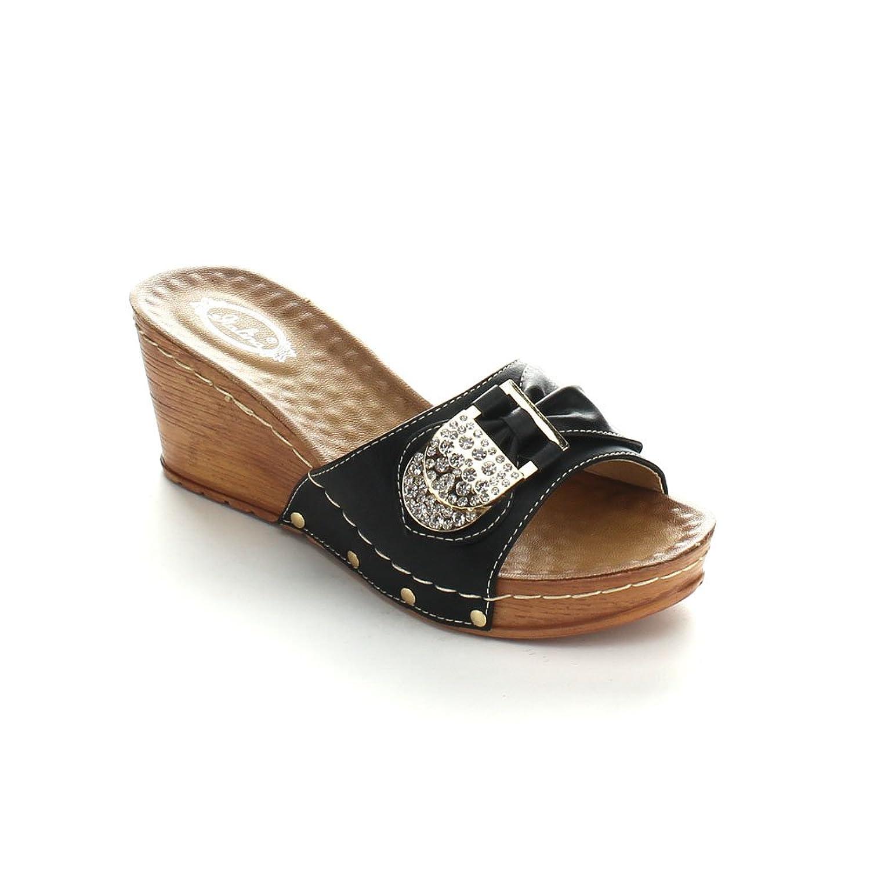 ITALINA DW5432 Women's Open Toe Platform Wedge Sandals Shoes lin king new woman sandals platform summer shoes women sweet bowtie buckle wedge lady sandals fashion open toe single shoes