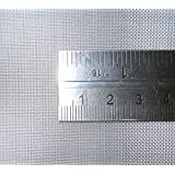 Stainless Steel Woven Wire Mesh 15cm x 15cm, 11 hole sizes / Mesh count / Aperture size. (40 Mesh)