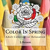 img - for Color In Spring: Adult Coloring for Relaxation book / textbook / text book