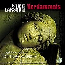 Verdammnis (Millennium 2) Hörbuch von Stieg Larsson Gesprochen von: Dietmar Wunder