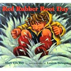 red rubber boot day