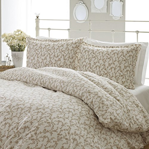 Laura Ashley Victoria Flannel Duvet Cover