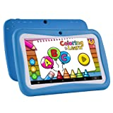 Kids Tablet Android 7.1, 7 Inch, HD Display, Quad Core, Tablet Child Protection, 1GB RAM + 8GB ROM, with WIFI, Dual Camera, Bluetooth, Educational, Multi Touch Screen Kid Model, Parental Control