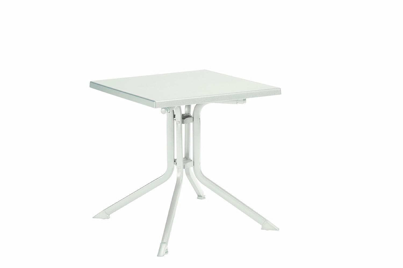 Kettler 0307013-5000 Klapptisch Aluminium-Kettalux, 70 x 70 cm, weiß günstig online kaufen
