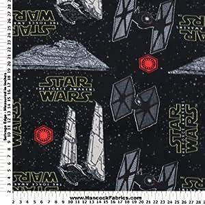 Star wars episode vii villain ship polyester for Spaceship fleece fabric