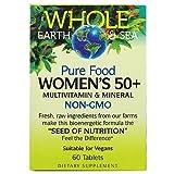 【Whole earth & Sea】ウーマンズ50+マルチビタミン&ミネラル 60タブレット(海外直送品)