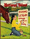 img - for National Velvet (MGM Authorized Coloring Book) #1186 book / textbook / text book