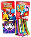 Balloon Animal University SUPERSIZED Kit. 90 Balloons NEW Custom Colors Assortment (our BEST kit…