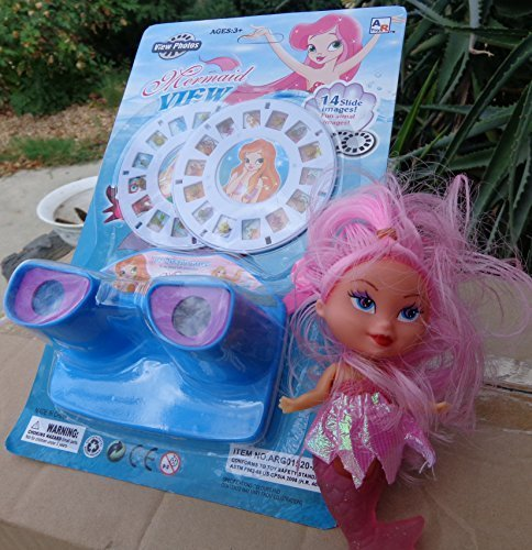 Magical-Mermaid-View-Finder-Toy-with-Photos-discs-of-Mermaids-Fun-Animals