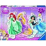 Ravensburger Disney Princess 4-Shaped Jigsaw Puzzles