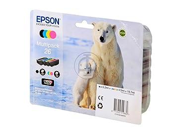 Epson Expression Premium XP-615 (26 / C 13 T 26164010) - original - Inkcartridge multi pack (black, cyan, magenta, yellow) - 19,7ml