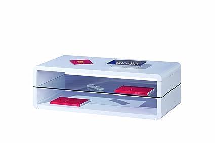Links 50100135XOXO Tavolino Bianco Laccato 120X 60X 40cm
