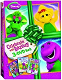 Celebrate With Barney 3-DVD Set