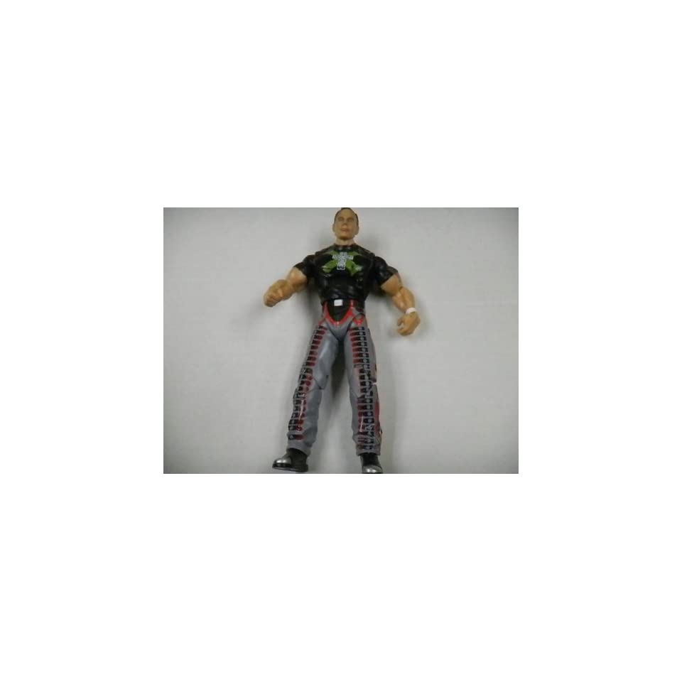 WWF Wrestling Shawn Michaels Action Figure with Gray Pants and Ponytail By Jakks Pacific