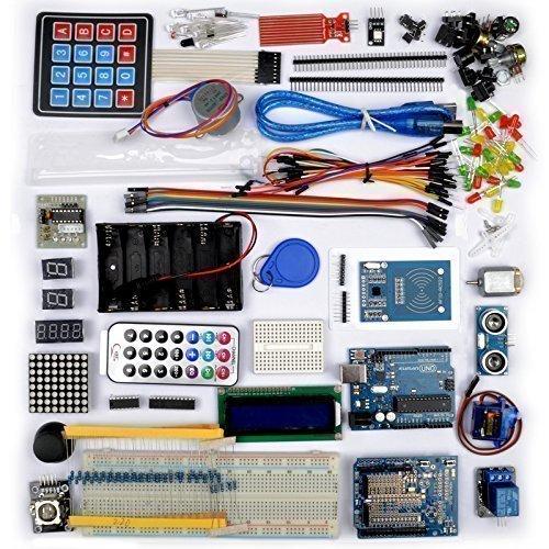 No te pierdas este kit de aprendizaje para Arduino Kuman K25D
