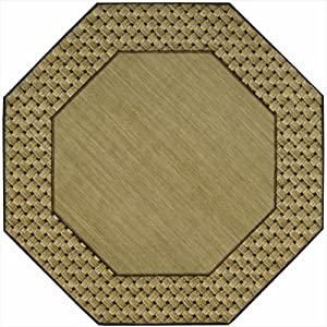 Amazon Com Vallencierre Va14 5 6 Feet Octagon Rug Beige
