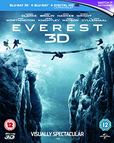 Everest (Blu-ray 3D) UK-Import, Sprache-Englisch.