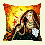 Lali Prints Rani Digitally Printed Cushion Cover