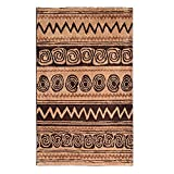 Riva Afro Rug Brown