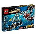 Lego - A1502980 - Jeu De Construction - Attaque De Black Manta - Heroes
