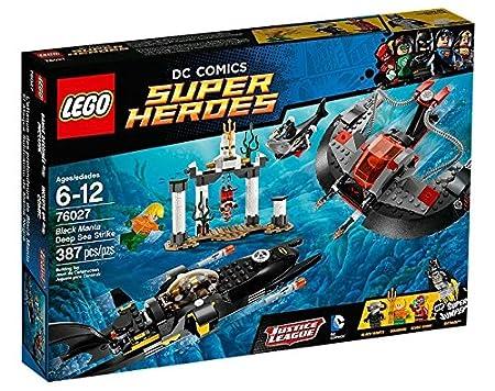 Lego Super Heroes - Dc Universe - 76027 - Jeu De Construction - L'attaque Des Profondeurs De Black Manta