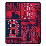 Boston Redsox MLB Strength Fleece Throw Blanket 50 x 60