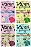 Karen McCombie Stella etc books: 4 books (Sweet Talking TJ / Meet the Real World, Rachel, Truly, Madly Megan / Frankie, Peaches and Me £23.96)