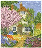 DMC Cross Stitch Kit - Countryside - Cottage Garden