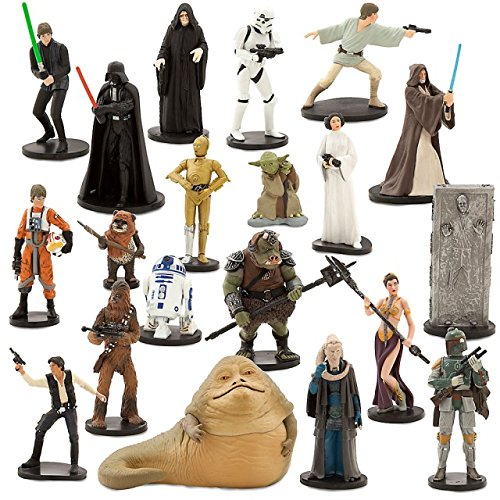 Disney Store Star Wars Mega Figure 20 Piece Play Set